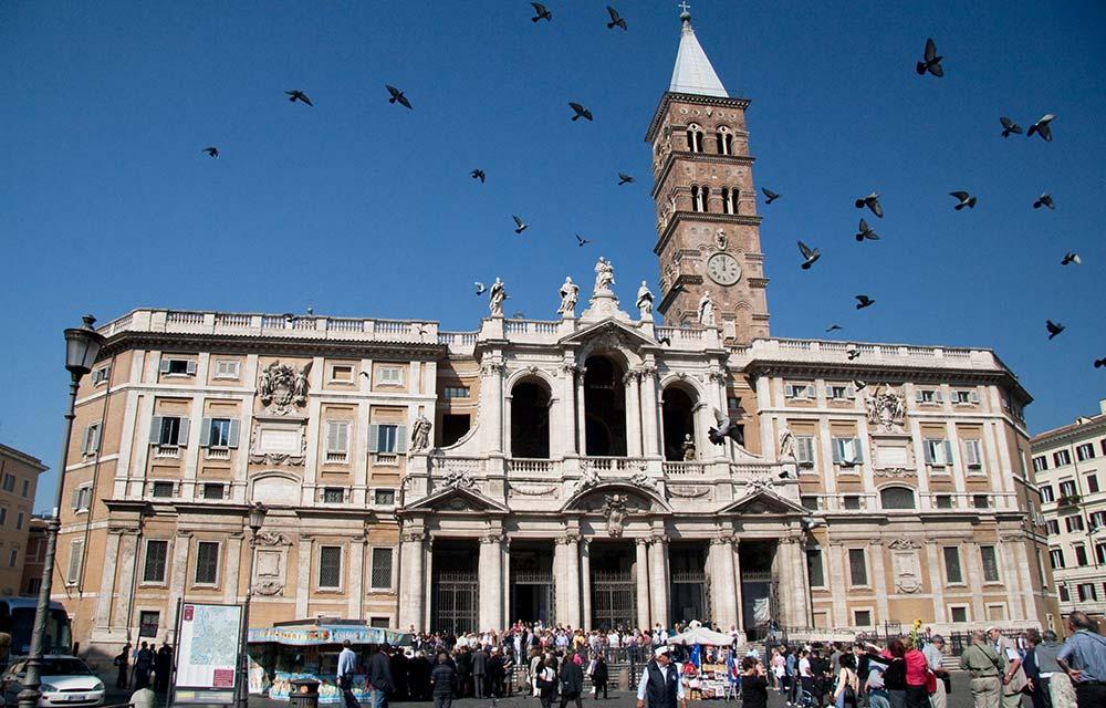 Unsolved Enigma Sator Square Santa Maria Maggiore Rome
