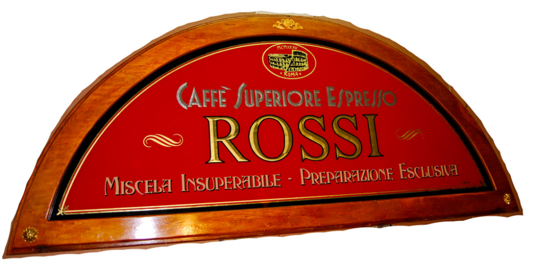 Ponzi Signs Monti Neighbourhood Rome