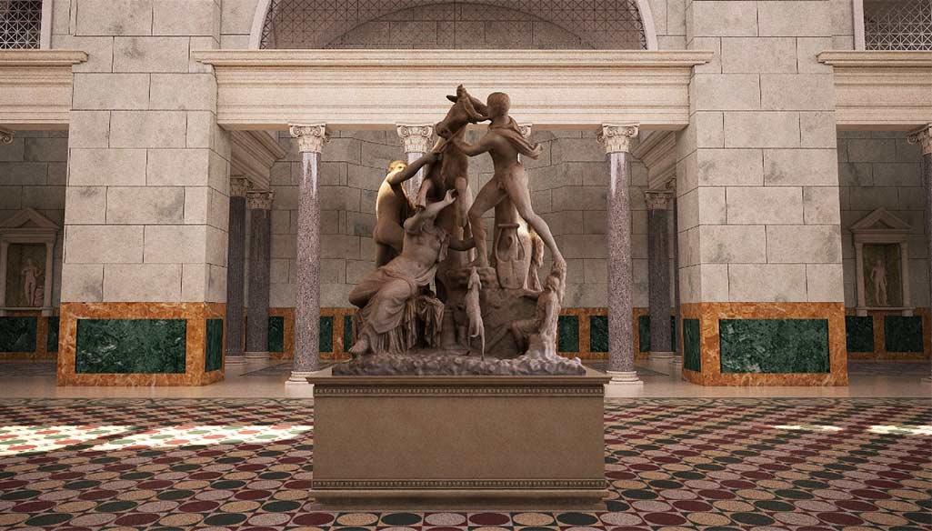 Terme Caracalla 3D Visit Biggest SPA Roman Empire